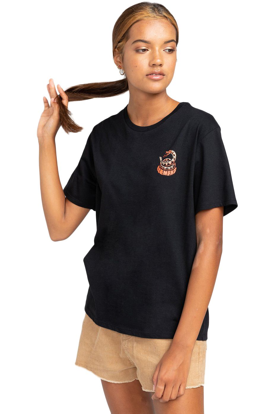 Element T-Shirt PICK YOUR POISON WO TIMBER COLLECTION Black