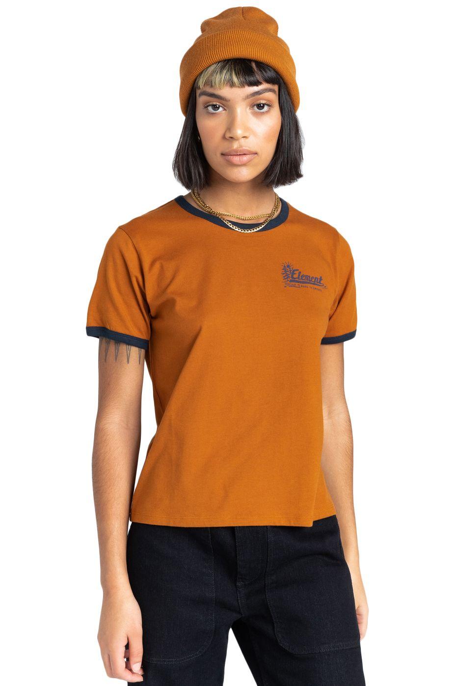 T-Shirt Element BALEEK SS W Glazed Ginger