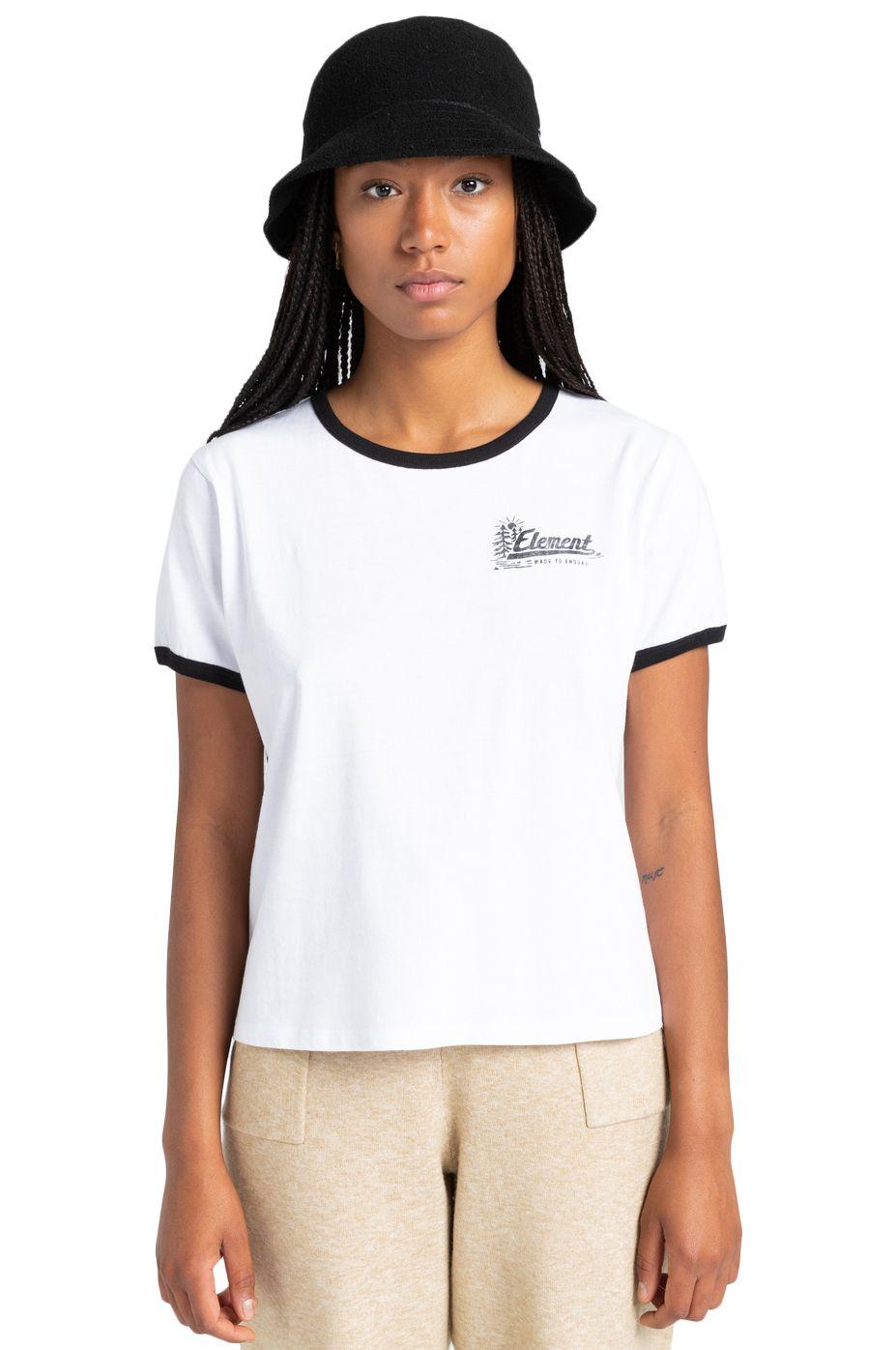 Element T-Shirt BALEEK SS W Optic White
