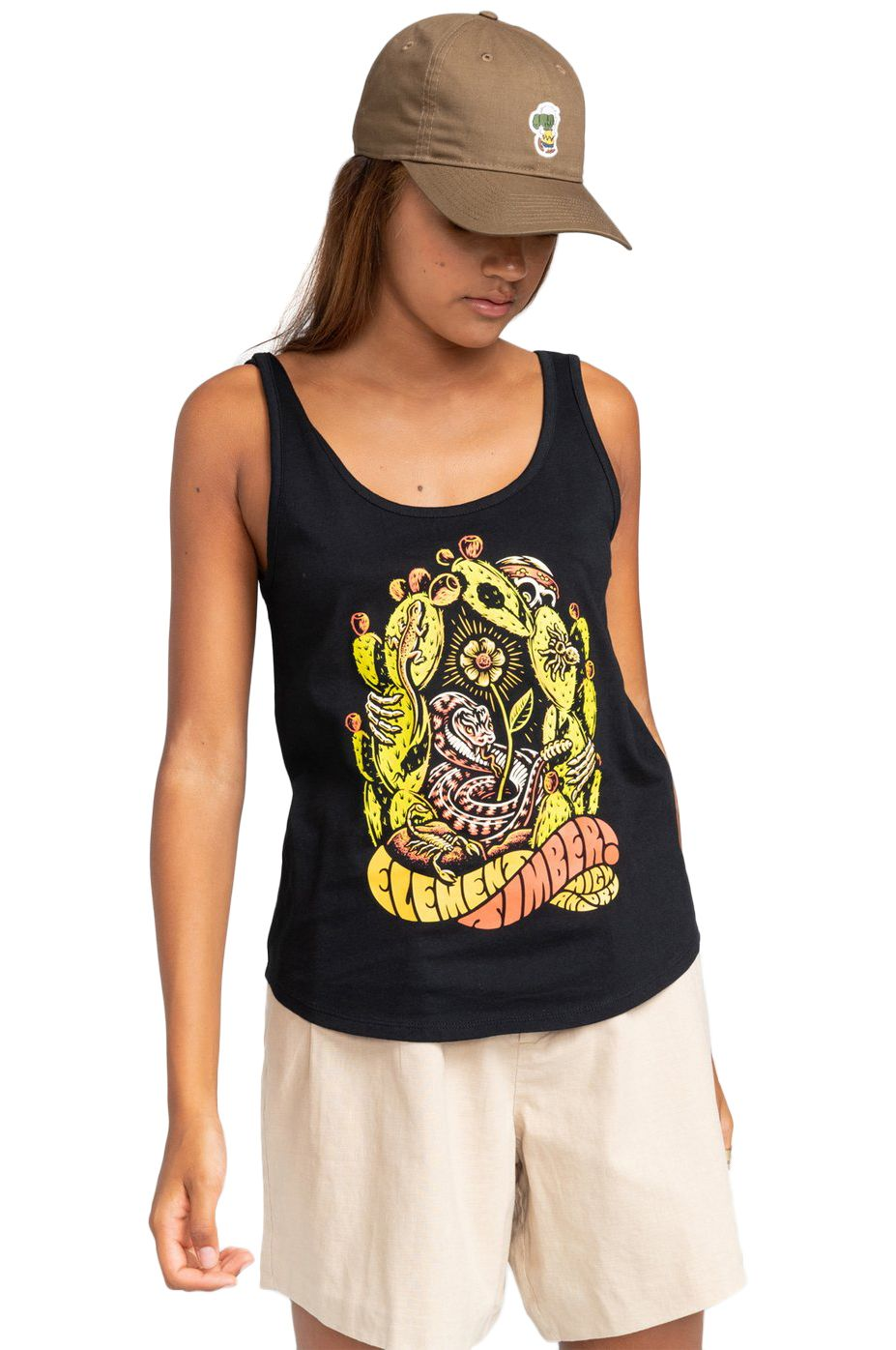 Element T-Shirt Tank Top PICK YOUR POISON LOW TIMBER COLLECTION Black