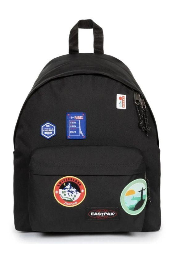 Eastpak Backpack PADDED PAK'R Patched Black