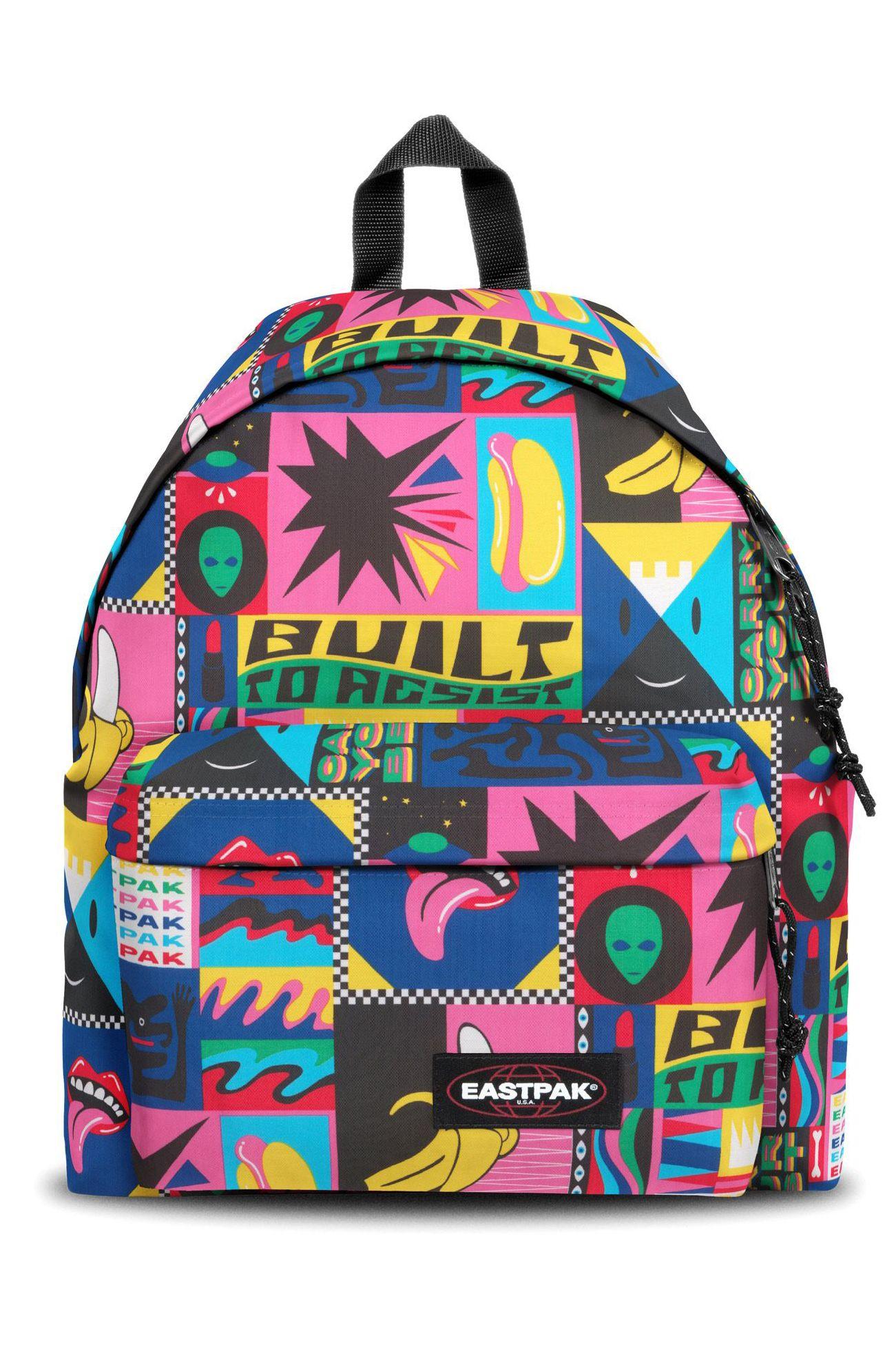 Eastpak Backpack PADDED PAK'R Wall Art Funk