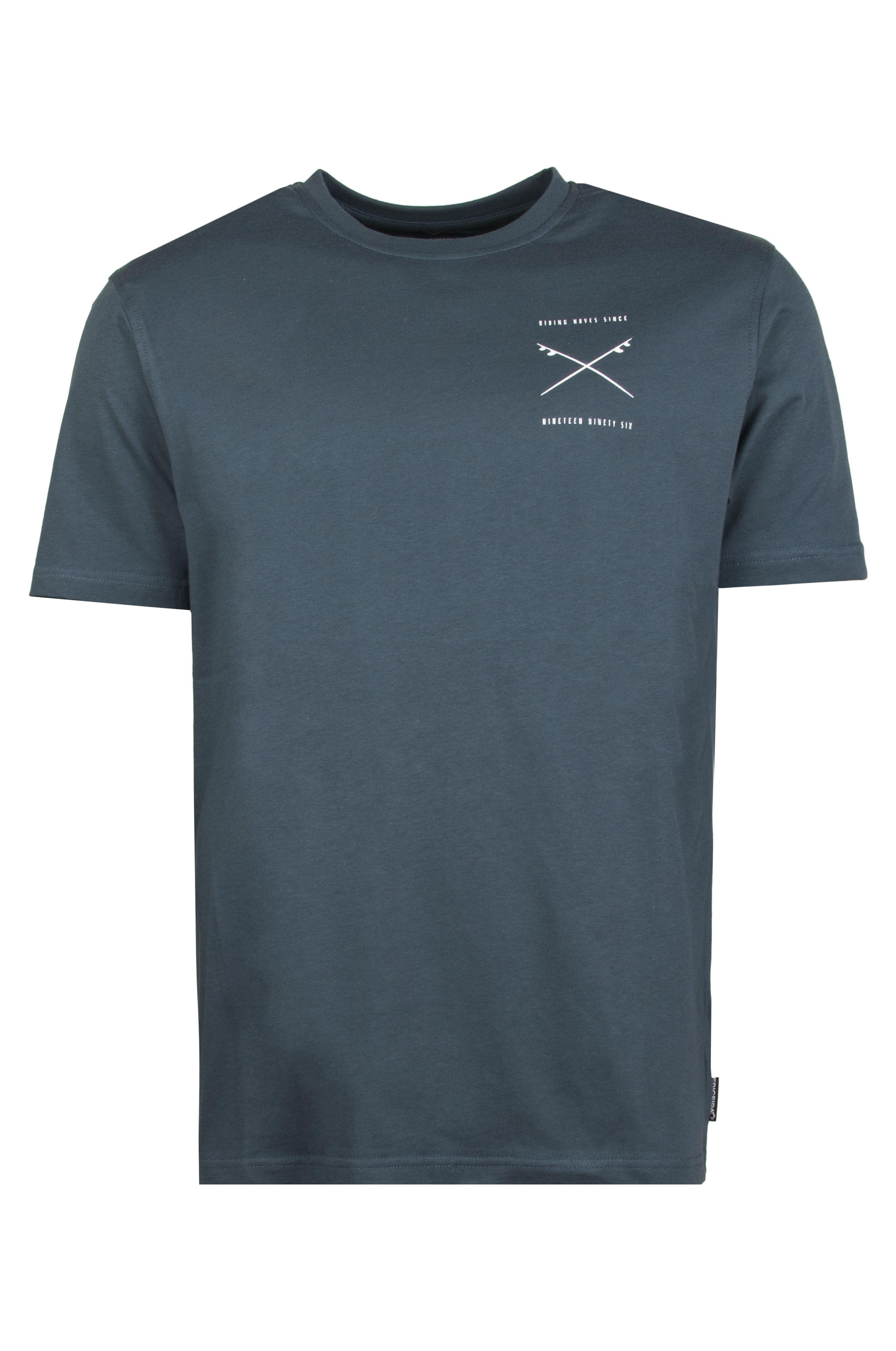 T-Shirt Ericeira Surf Skate KAIKURA Navy Tan