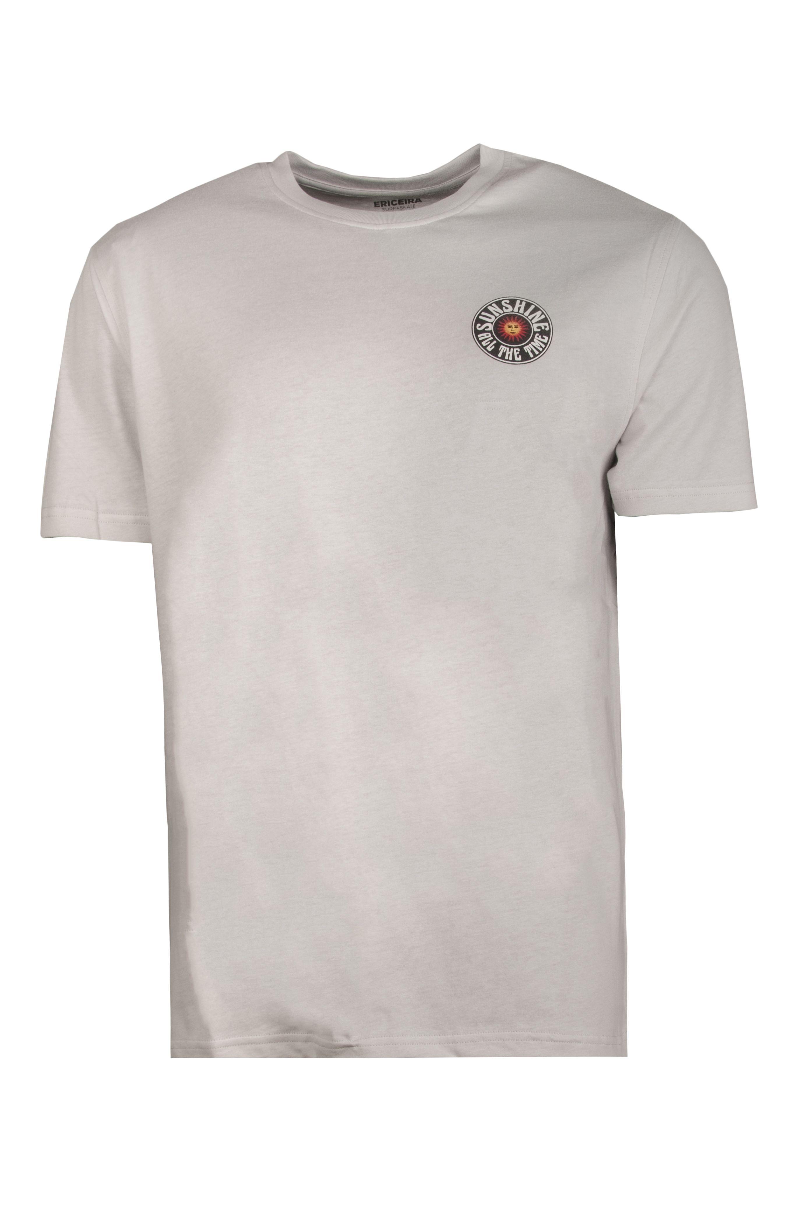 T-Shirt Ericeira Surf Skate SUN SMILE Off White