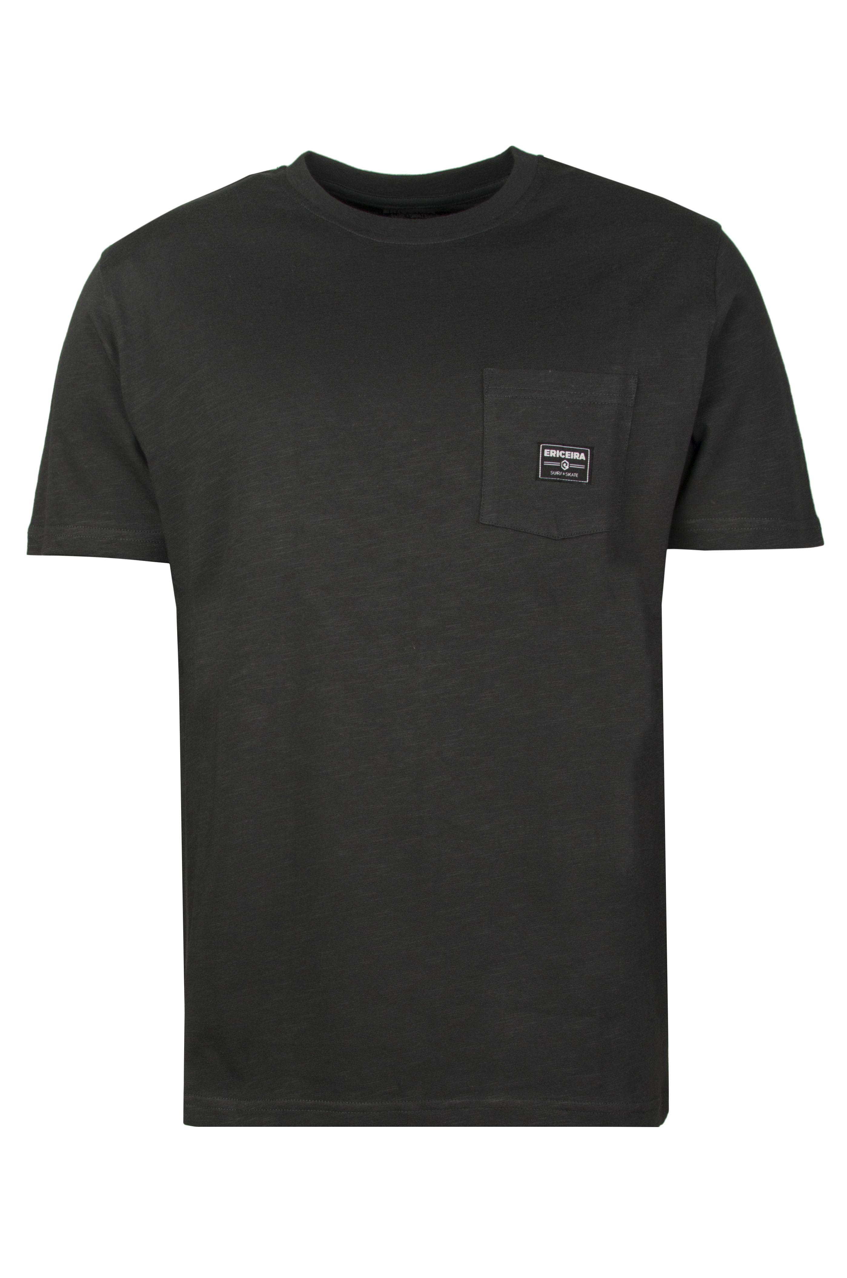T-Shirt Ericeira Surf Skate LOGO Charcoal