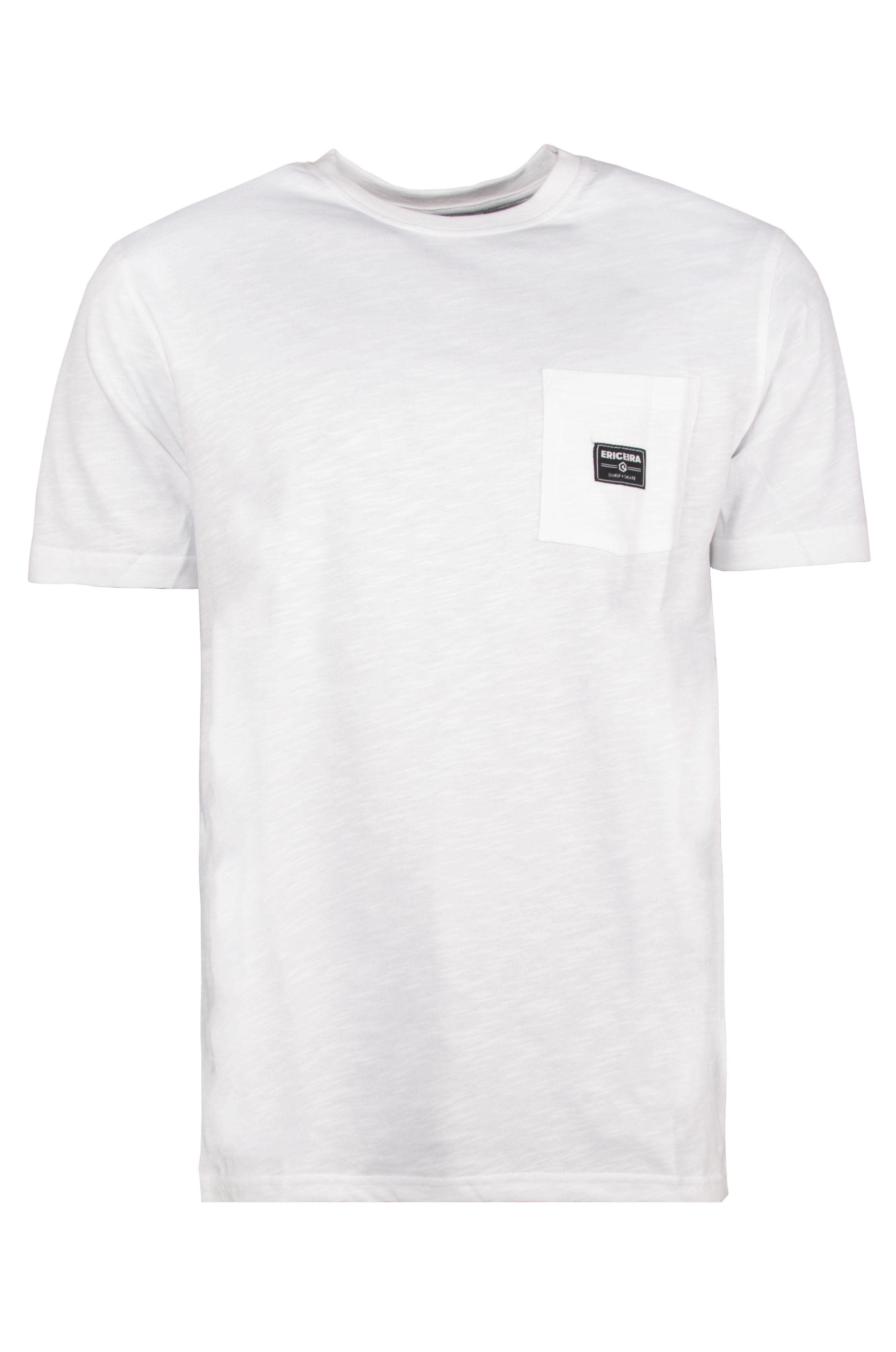 T-Shirt Ericeira Surf Skate LOGO White