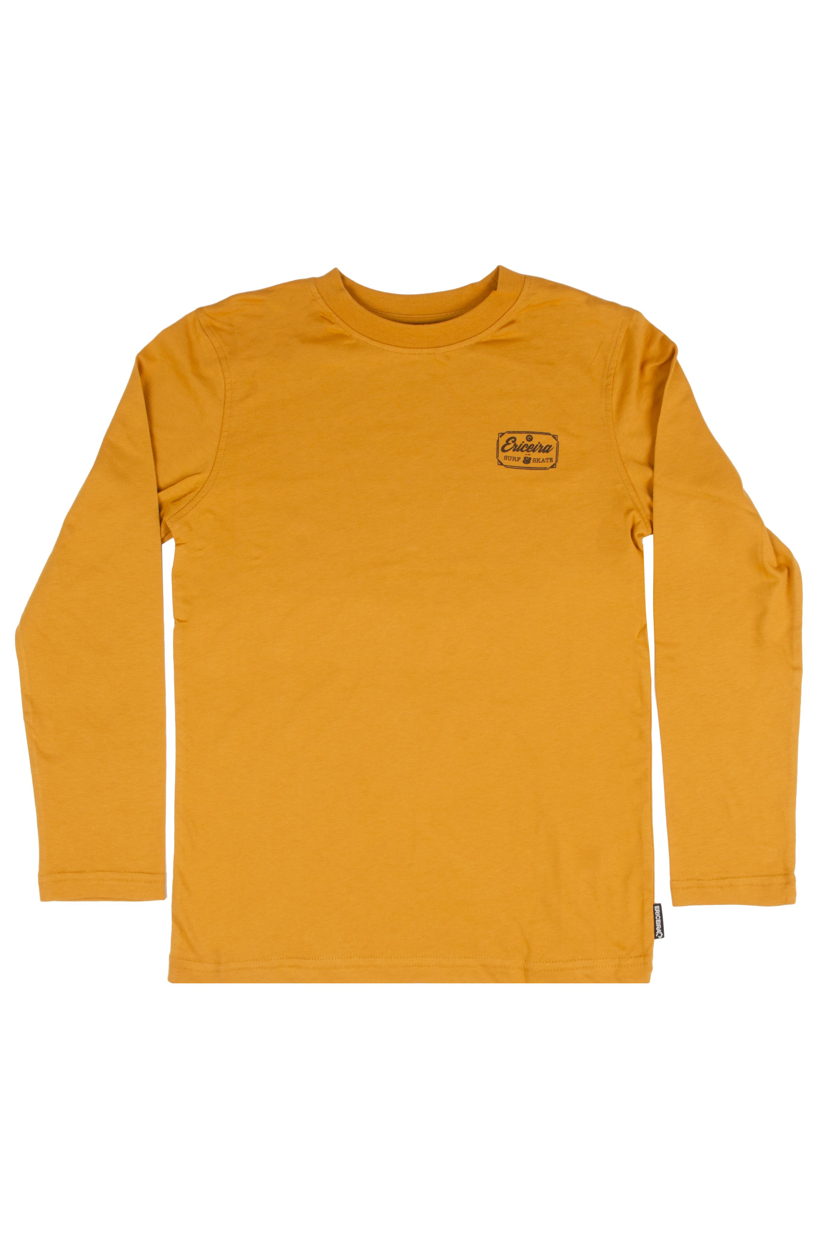 L-Sleeve Ericeira Surf Skate CLASSIC Mustard