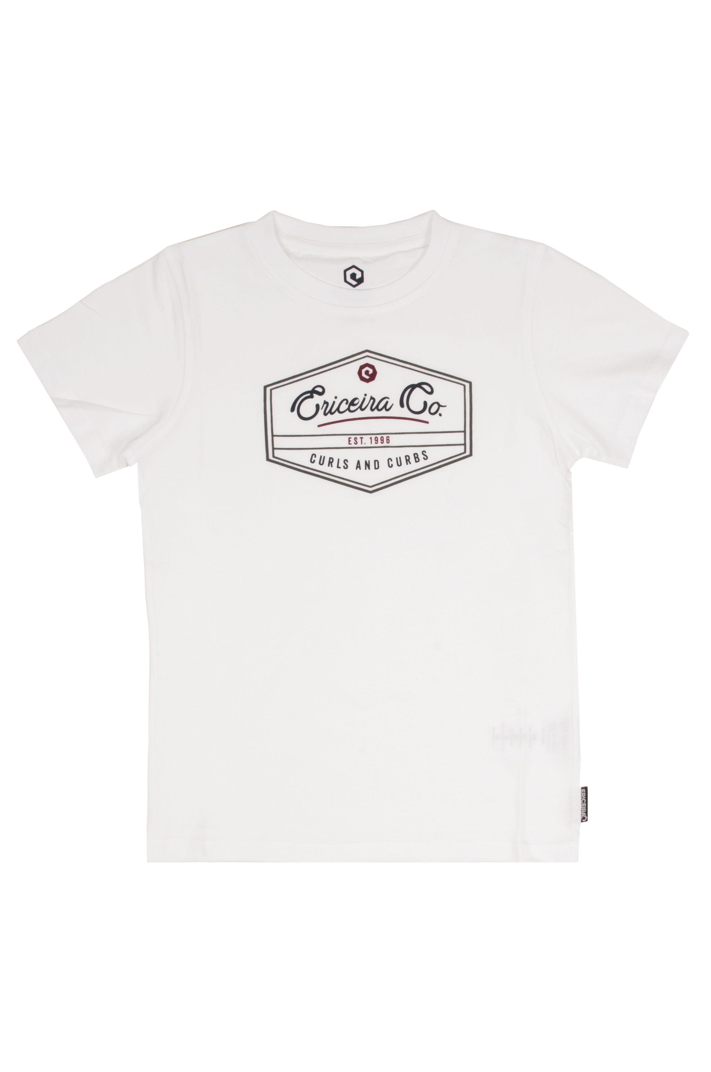 T-Shirt Ericeira Surf Skate HONEY BEE White