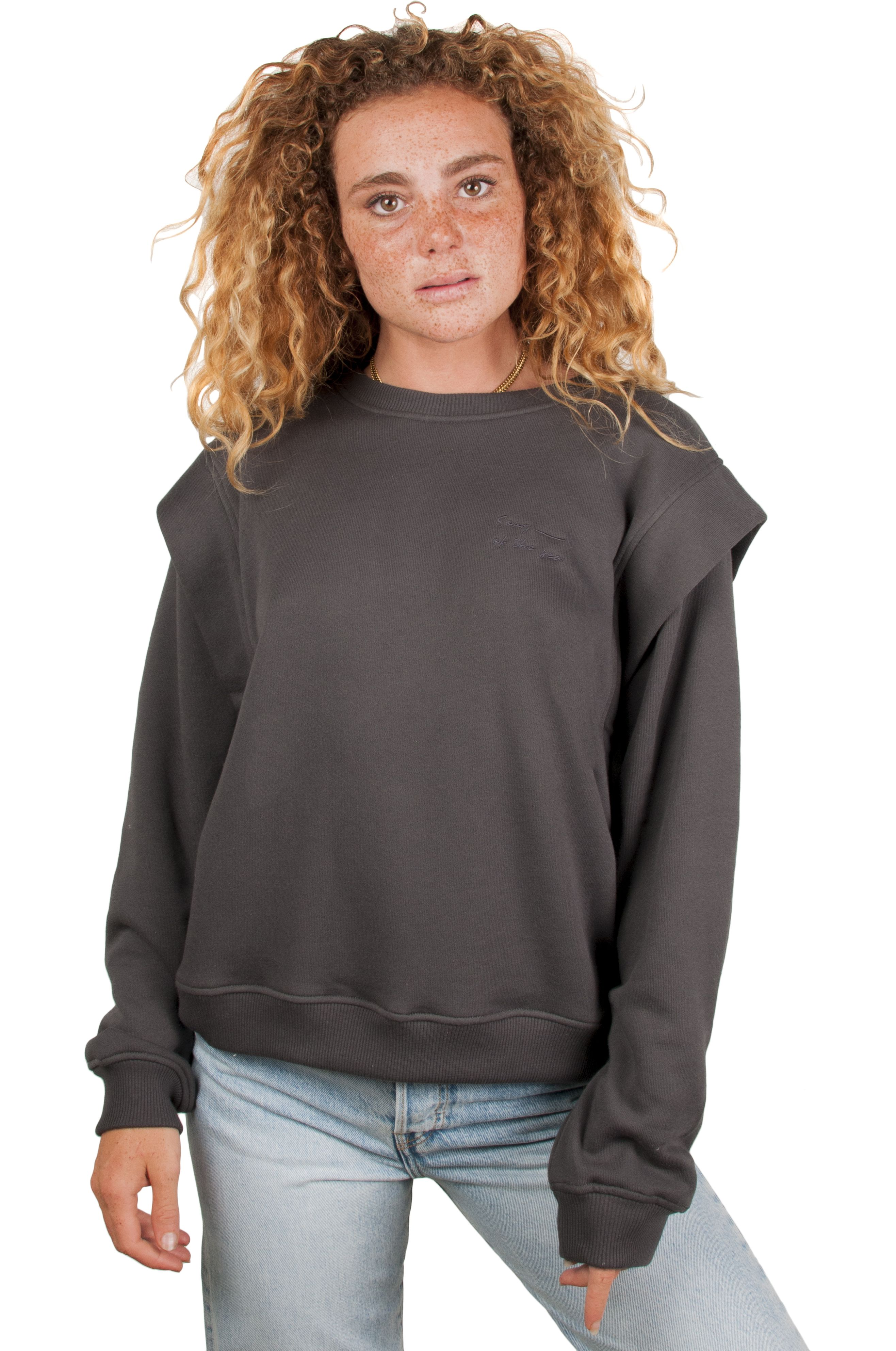 Sweat Basica Ericeira Surf Skate COOL Charcoal