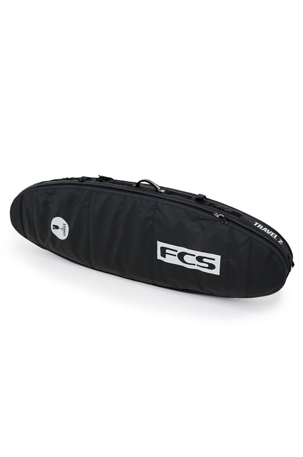 Fcs Boardbag 7'0 TRAVEL 2 FUN BOARD Black/Grey
