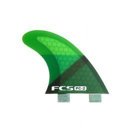 Quilha Fcs PC-2 GREEN SLICE TRI RETAIL FINS Tri