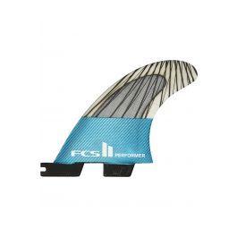 Quilha Fcs II PERFORMER PC CARBON TEAL XSMALL TRI Tri