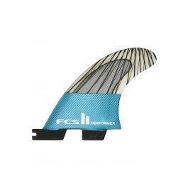 Quilha Fcs II PERFORMER PC CARBON TEAL XLARGE TRI Tri