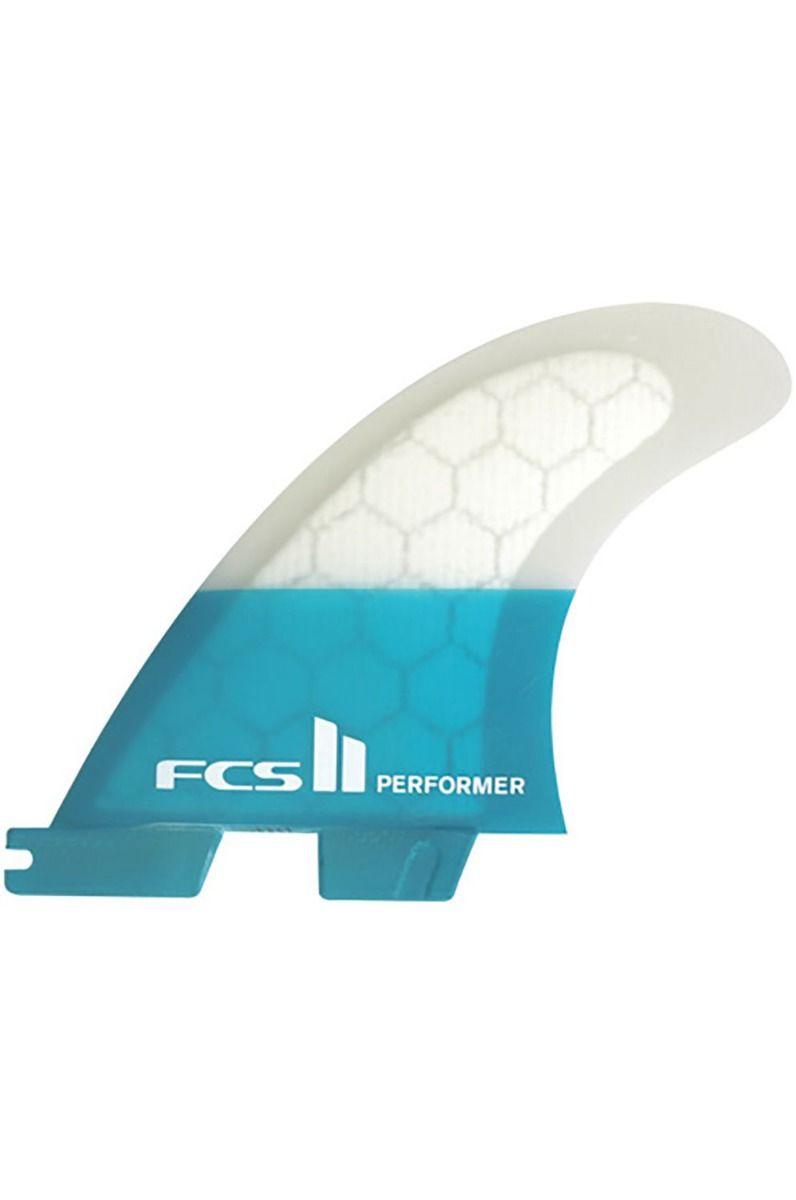 Quilha Fcs II PERFORMER PC TEAL XSMALL TRI RETAIL FINS TRI