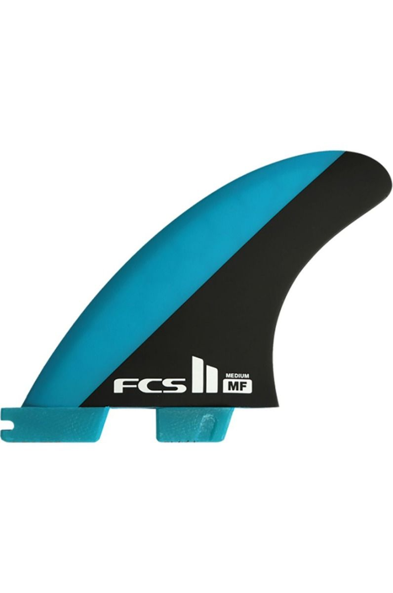 Quilha Fcs II MF PC BLUE/BLACK MEDIUM TRI RETAIL FINS TRI