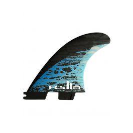 Quilha Fcs II MB PC CARBON BLUE LARGE TRI-QUAD Tri Quad FCS II L