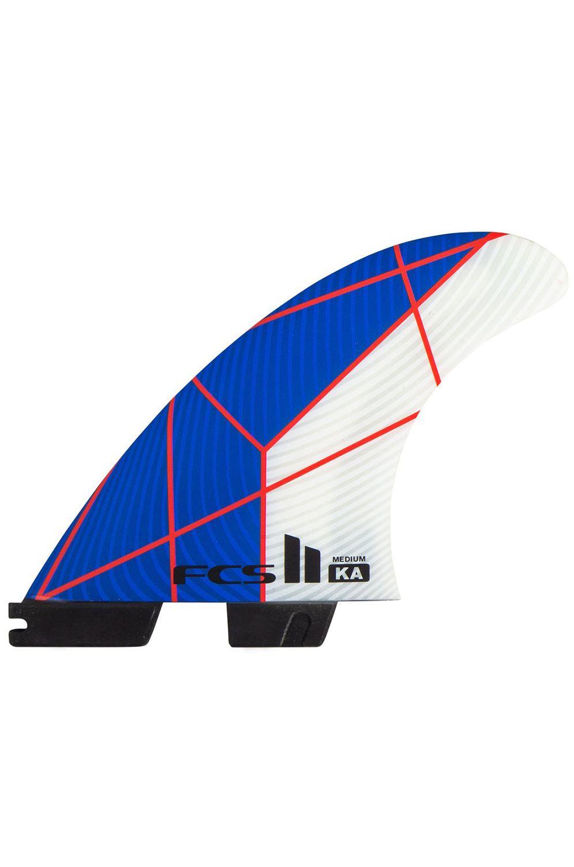 Fcs Fins II KA PC GROM BLUE/WHITE TRI Tri FCS II GROM