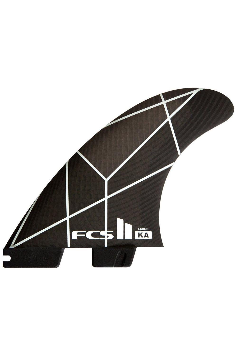 Fcs Fins II KA PC SMALL WHITE/GREY TRI Tri FCS II S
