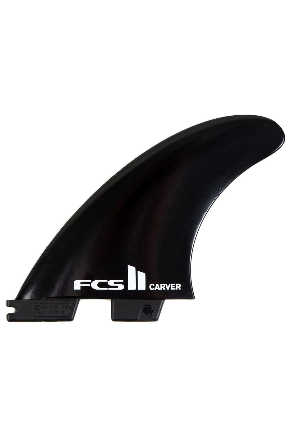 Fcs Fins II CARVER BLACK LARGE TRI Tri FCS II L