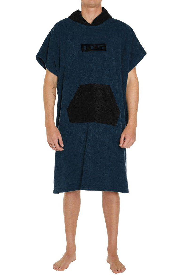 Fcs Poncho TOWEL PONCHO Navy/Black