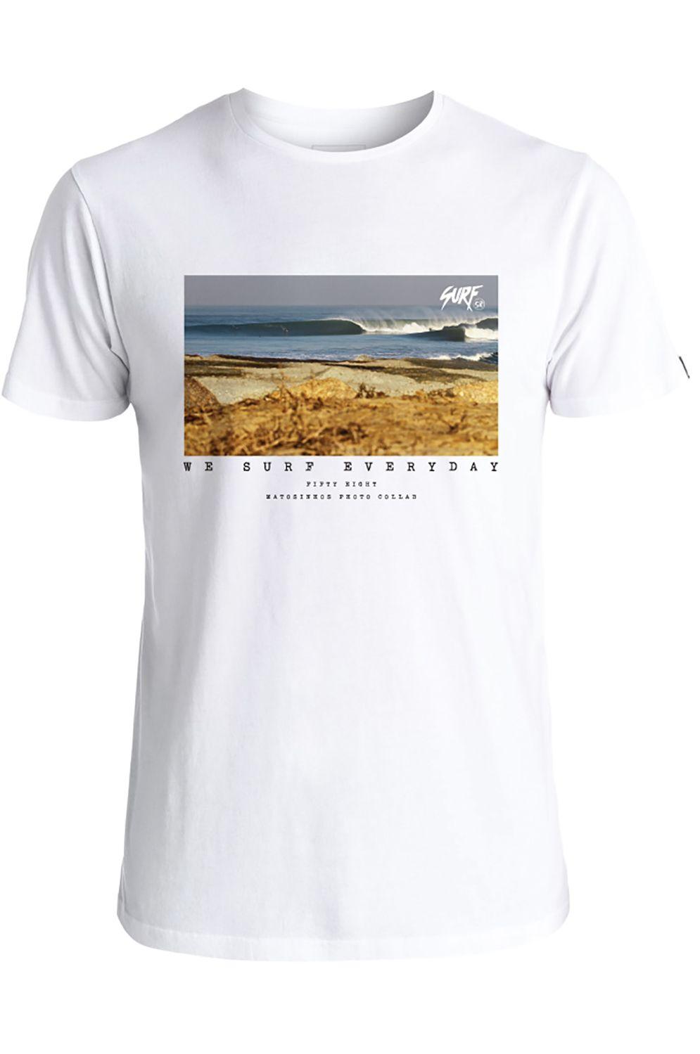 T-Shirt 58 Surf MATOSINHOS White