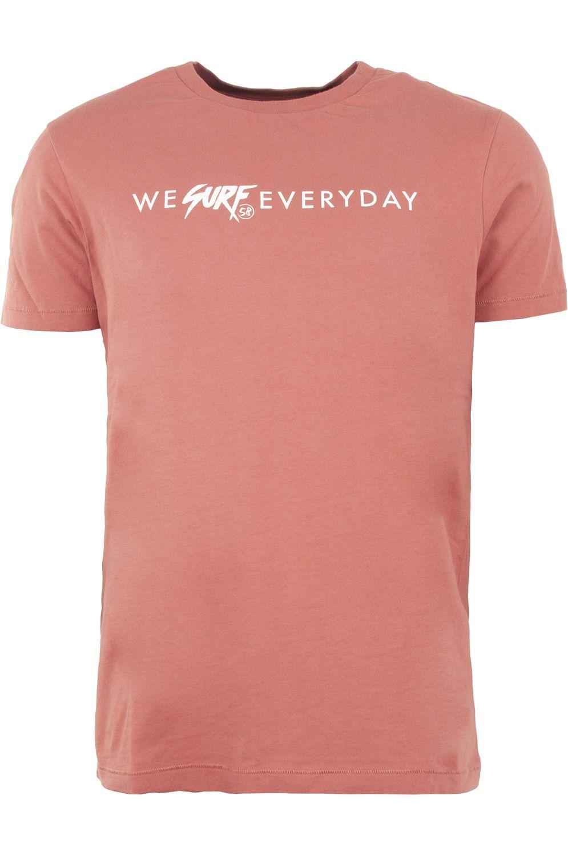 T-Shirt 58 Surf ATLÂNTICO Pink Black