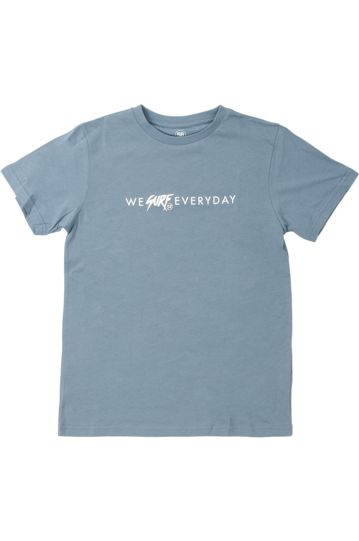T-Shirt 58 Surf ATLÂNTICO Blue Grey