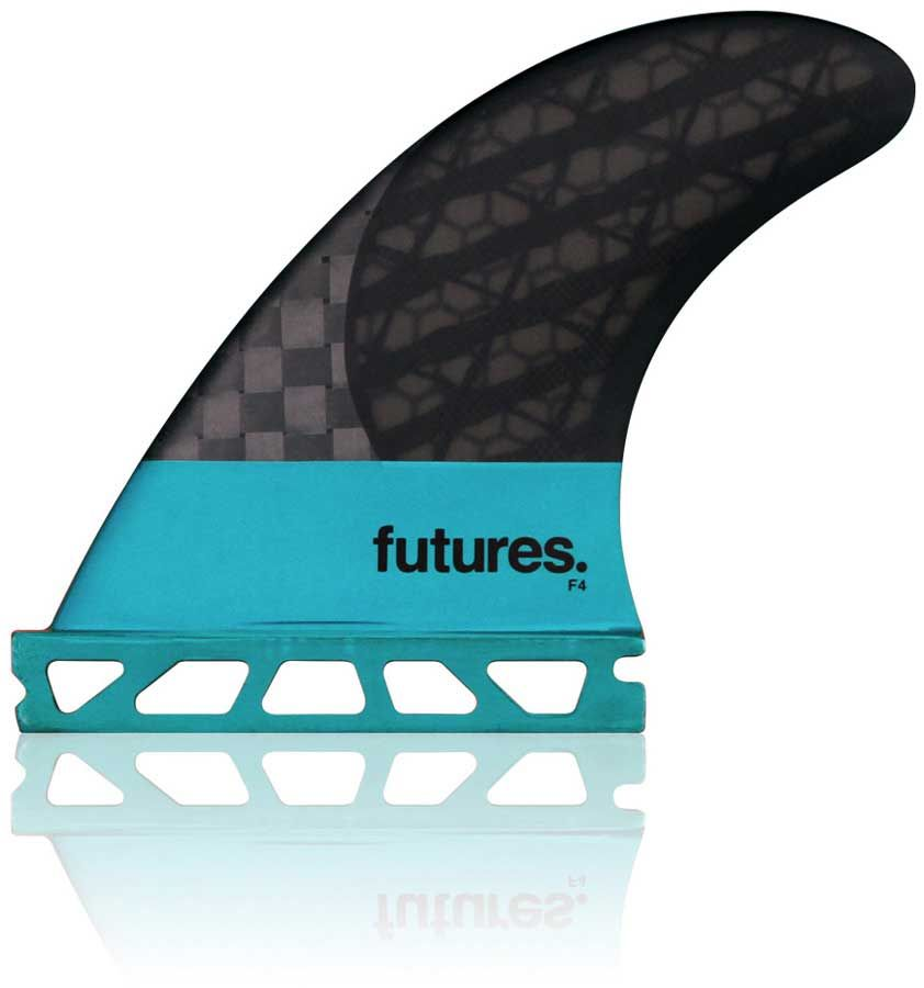 Quilha Future Fins F4 BLACKSTICX 3.0 TRI