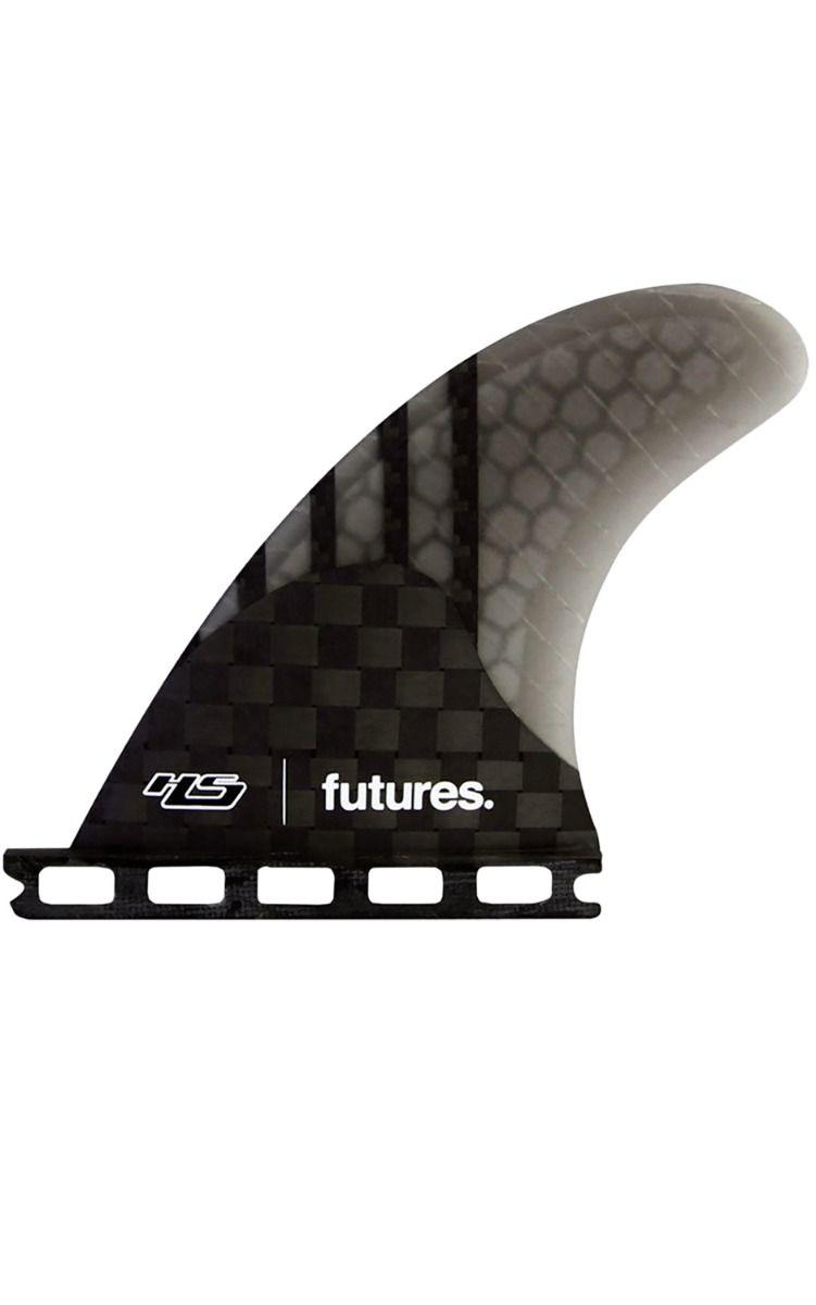 Quilha Future Fins HS QUAD REAR SMOKE Quad Rear FCS Quad Rear L