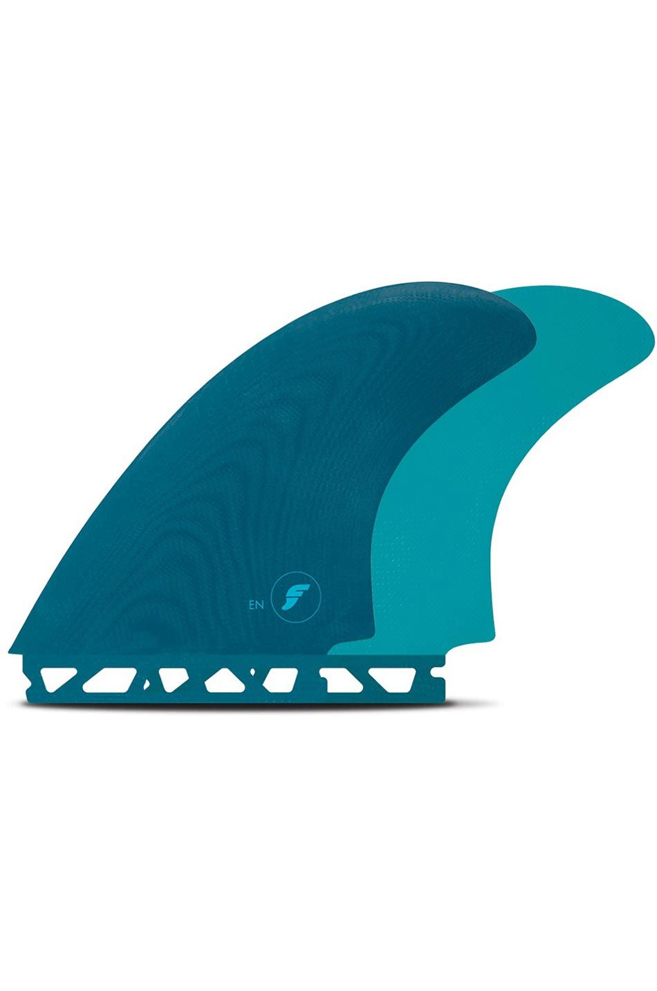 Quilha Future Fins EN TEAL Twin/Bonzer Futures Twin L