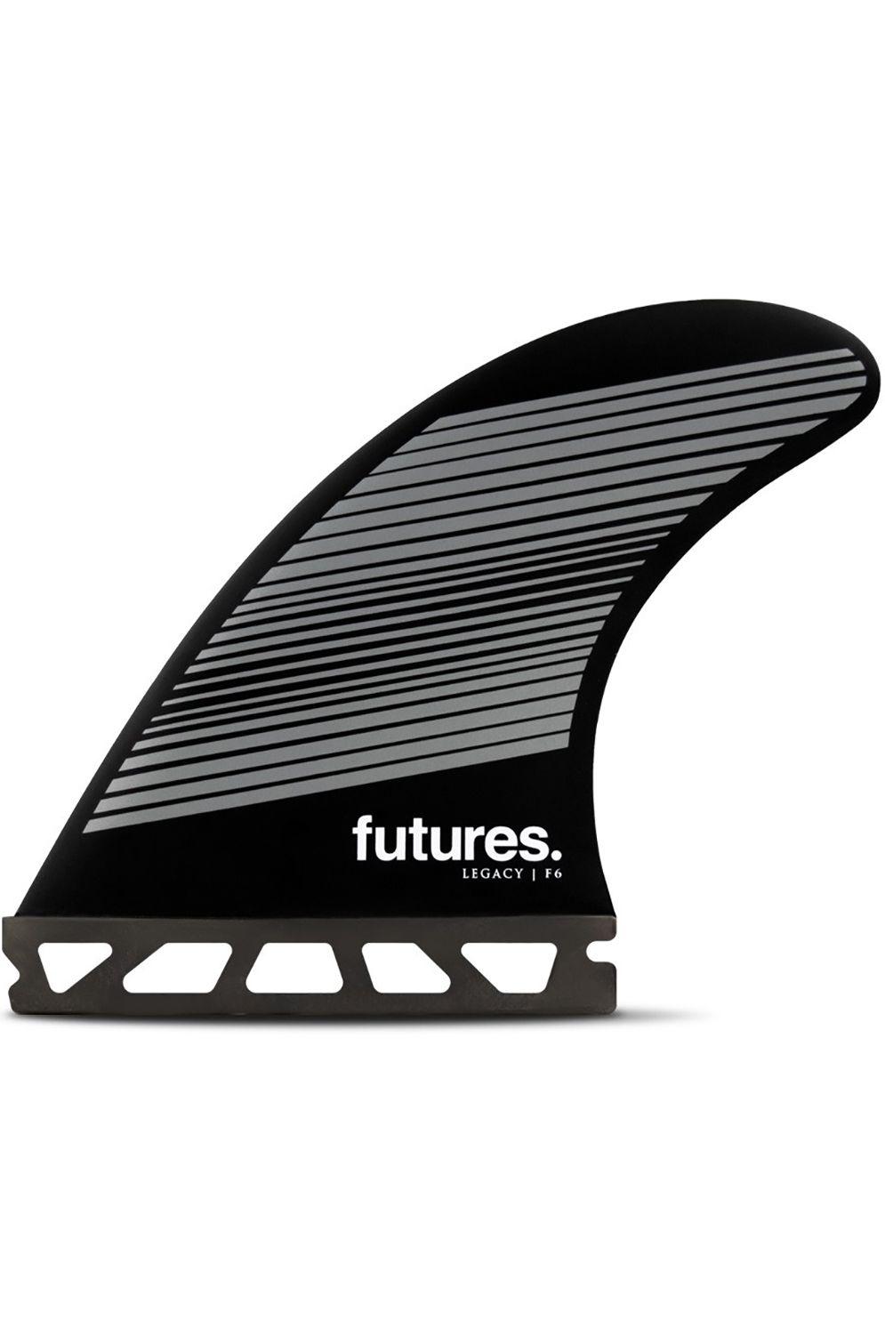 Quilha Future Fins F6 GREY/BLACK Tri Futures M