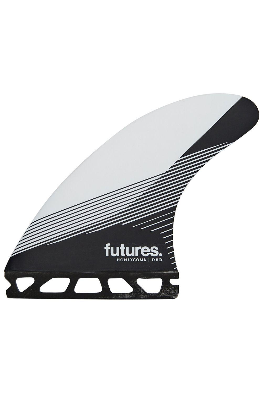 Quilha Future Fins DHD BLACK/WHITE Tri Indefinido L