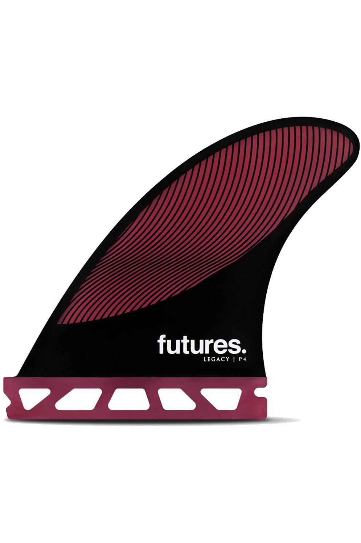 Quilha Future Fins P4 BURGUNDY/BLACK Tri Indefinido S