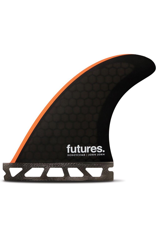 Quilha Future Fins JOHN JOHN GROM BLACK/NEON ORANGE Tri Futures XS