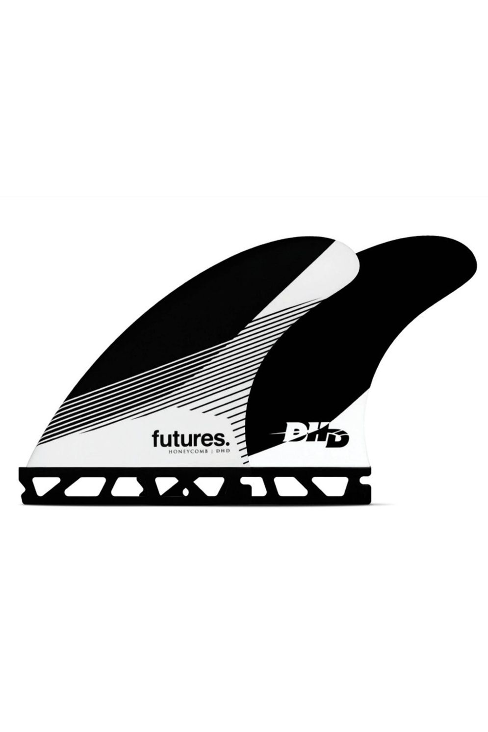Quilha Future Fins DHD MEDIUM BLACK/WHITE Tri Futures M