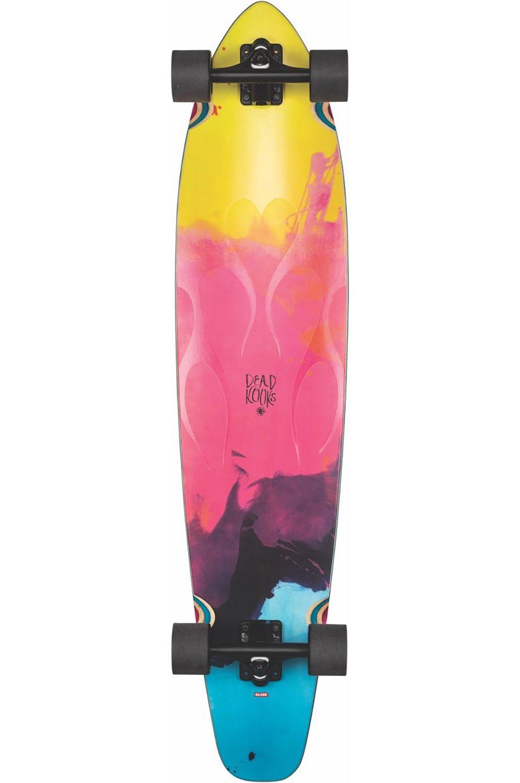 """Cruiser Skate Globe 43"""" BYRON BAY Dk/Cmyk Clear Flame"""