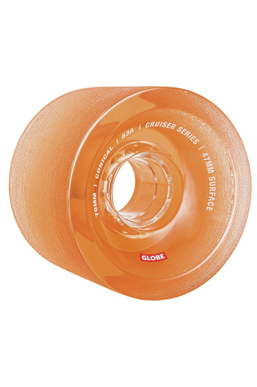 Rodas Globe 70MM CONICAL CRUISER WHEEL Clear Amber