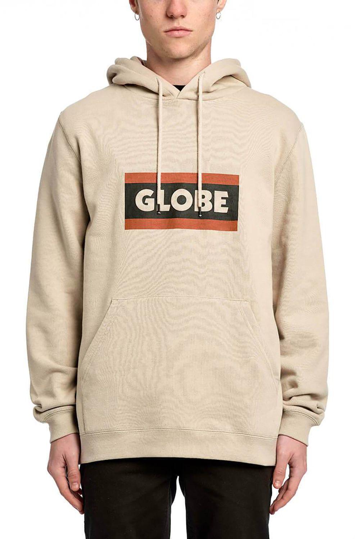 Globe Sweat Hood RELAX HOODIE Cashew