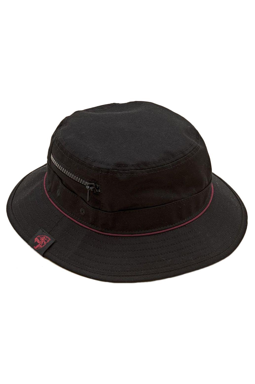 Chapeu Globe DION AGIUS BUCKET HAT Black