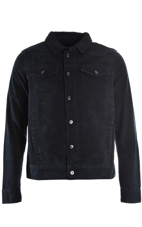 Blusão Globe STALKER DENIM Washed Black