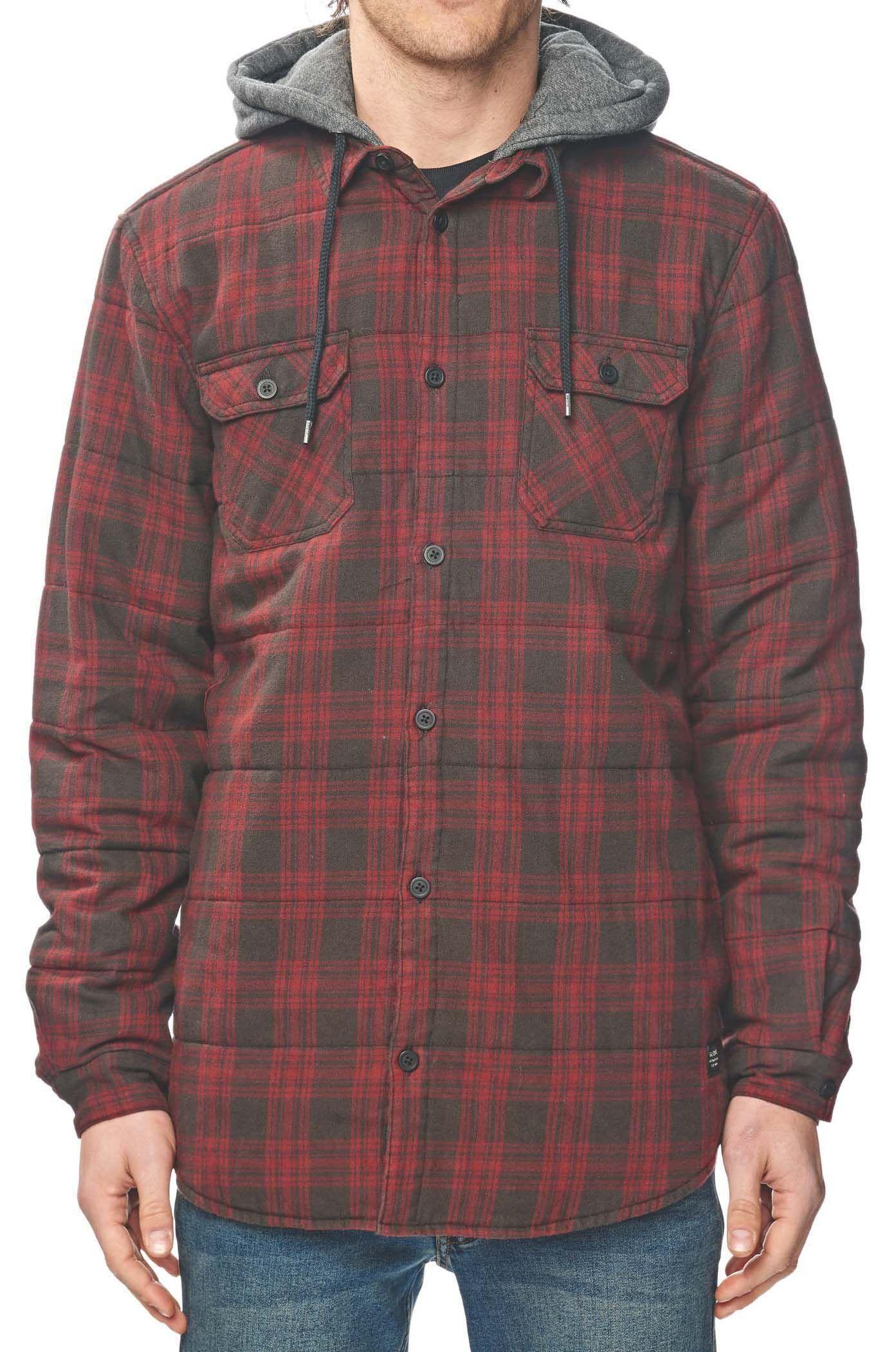 Camisa Globe ALFORD III LS Ox Blood