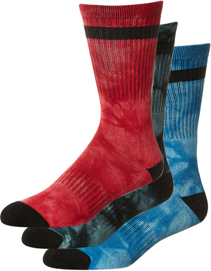 Meias Globe ALL TIED UP SOCK 3 PACK Assorted