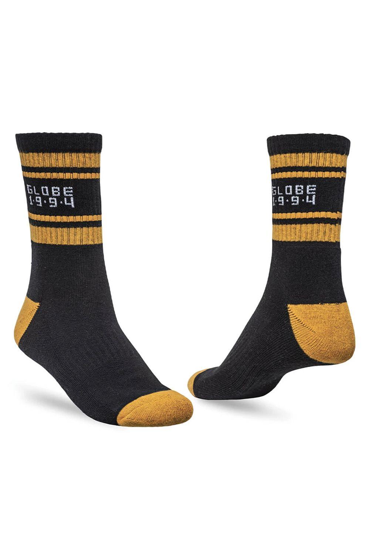 Globe Socks BENGAL CREW SOCK 5 PACK Gold