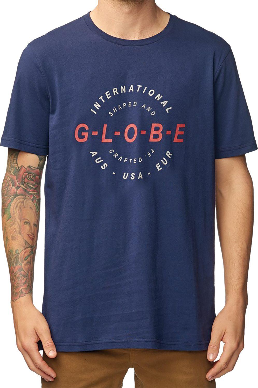 T-Shirt Globe ICON Sea Blue