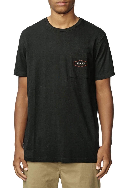 T-Shirt Globe HEMISPHERE Black