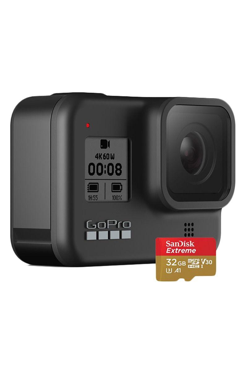 Camera GoPro HERO 8 BLACK + SD CARD 32GB Assorted