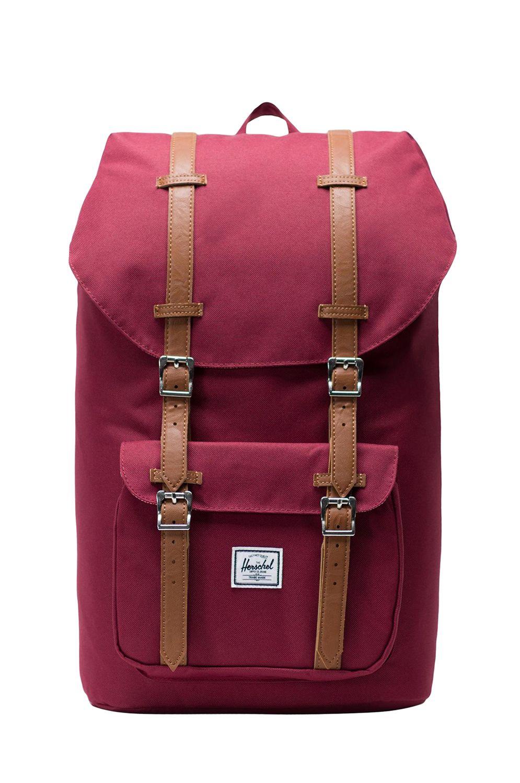 Herschel Backpack HERSCHEL LITTLE AMERICA Windsor Wine/Tan