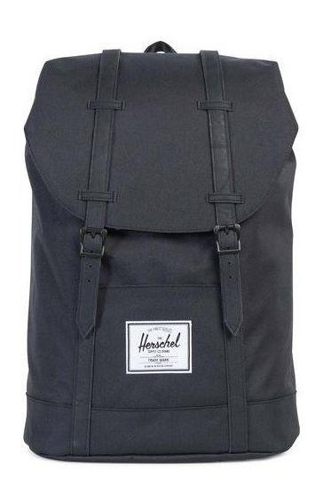 Herschel Backpack RETREAT Black/Black