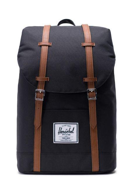 Herschel Backpack RETREAT Black/Tan