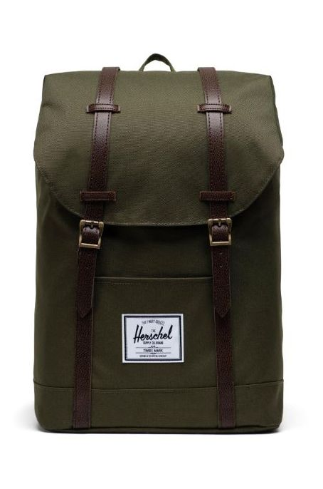 Herschel Backpack RETREAT Ivy Green/Chicory Coffee
